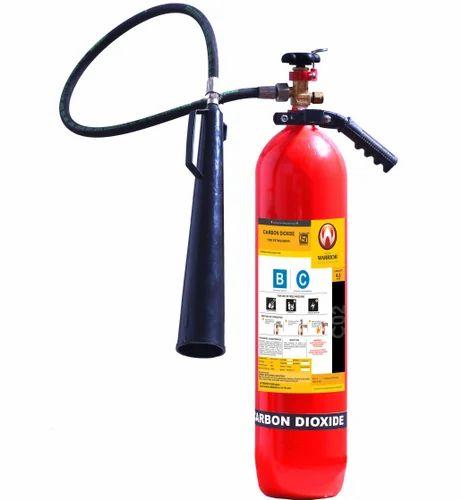 co2 fire extinguisher at rs 5500 /piece | co2 अग्निशामक