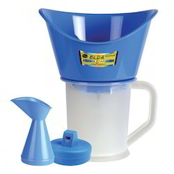 White & Blue Ozomax Elda Steamer Cum Vaporizer