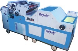 Two Color Satellite Poly Offset Machine