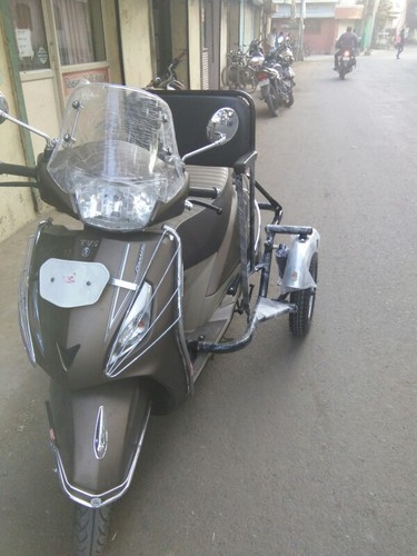 Side Wheel Attachment Kit For Tvs Jupiter Classic At Rs 11500 Unit