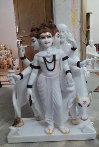 Marble Dattatreya Idol