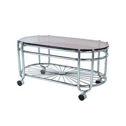 Stylish Stainless Steel Table