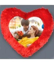 Heart Shape Photo Pillow