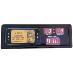 Digital Clock with Photo