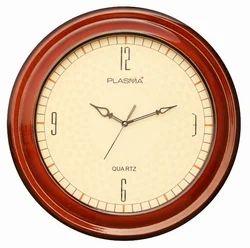 Plasma Quartz Wooden Wall Clock, 7005