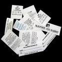 Printed Taffeta Label