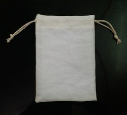 Rectangular Cotton Pouch Bag