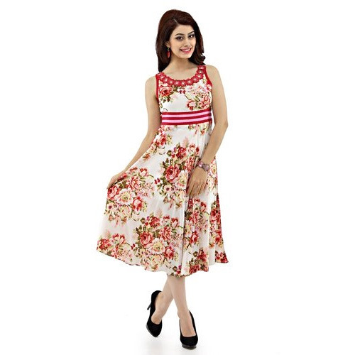 Women Printed Cotton Dresses at Rs 300  piece  bd0921cb8