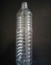 Round PET Plastic Mineral Water Bottle 1000ml, 1 Litre, Screw Cap