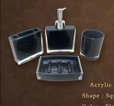 Acrylic Bath Set