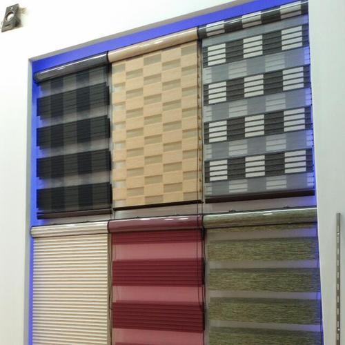 Fiber Home Window Blinds Zebra Blind Roller Blinds Rs 150