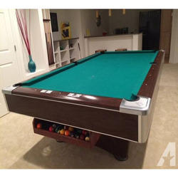 Used Light Green Pool Table