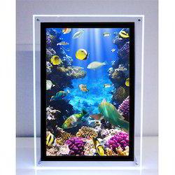 LED Crystal Frame