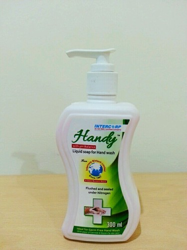 White 250ml Handwash Bottle