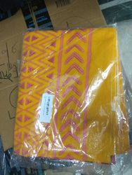 Yellow Double Bed Sheet