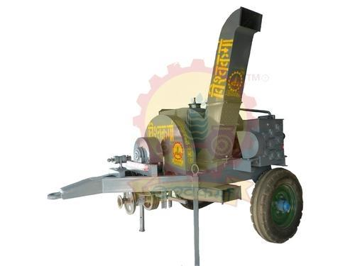 Mild Steel Tractor Attaiched Semi-Automatic Shredder Machine