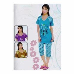 f5945203b52 Fancy Ladies Night Suit at Rs 300  piece