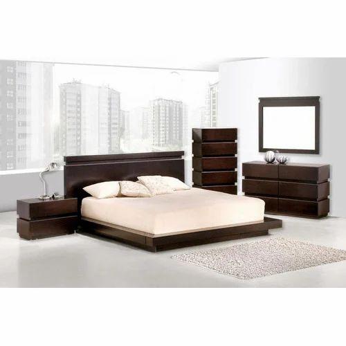 Modular Wooden Bed