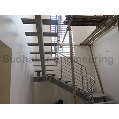 Delicieux Readymade Steel Staircase At Rs 170 Kilogram Ganapathy Nagar