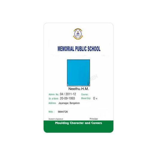 School ID Card - Student Id Latest Price, Manufacturers