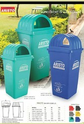 Plastic Waste Bins with Lid
