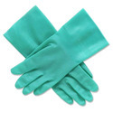 Green Nitrile Surgical Disposable Gloves