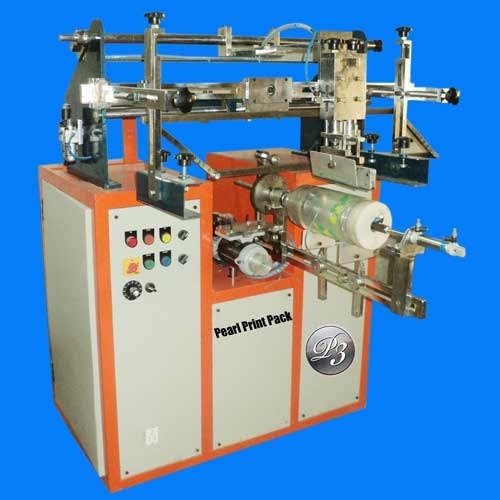 Wedding Card Round Screen Printing Machine