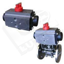 Rotary Actuator with Ball Valve