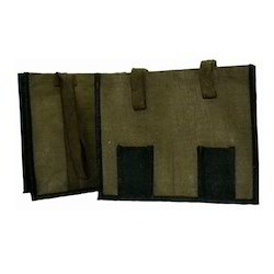 Double Pocket Jute Bag
