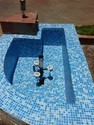 Swimming Glass Mosaic Tiles