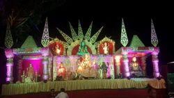Jagrata Stage Decoration Work