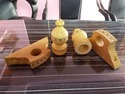 Wooden Finial Or Curtain Pipe Ends