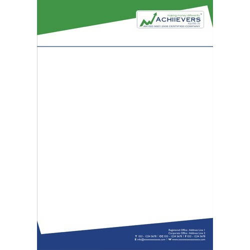 Color letterheads at rs 1 piece letter head id 13878333212 color letterheads thecheapjerseys Gallery