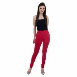 Churidar Plain Ladies Lycra Leggings, Size: Free Size