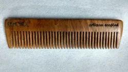 Brown Sisam Wood Pocket Comb