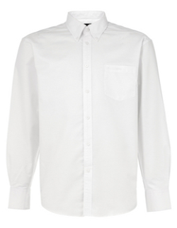 Men's Formal White Shirt, Corporate Formal Shirts - Basil Apparel ...
