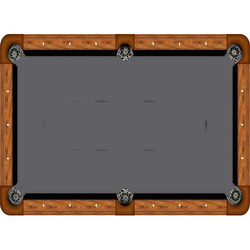 Cloth Billiard Table