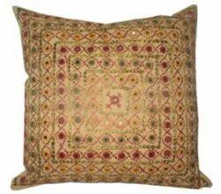 Thread & Mirror Work Cushion Covers