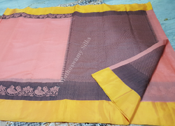 Tissue Border Silk Cotton Sarees
