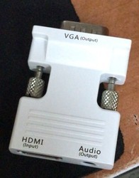 HDMI to VGA Male Converter