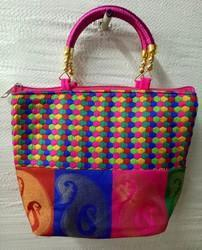 Cotton Printed Fancy Bags For Ladies