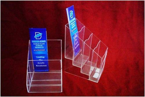 Step Brochure Holder