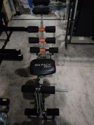 Six Pack Exerciser Ab Cruncher Machine