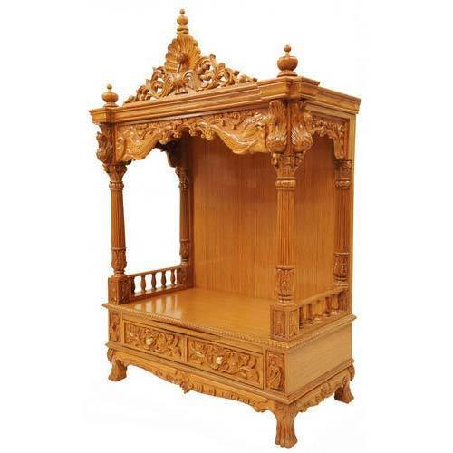 Wooden Mandir Antique Wooden Mandir Manufacturer From
