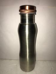 Matt Nickle Coating Copper Curve Bottle
