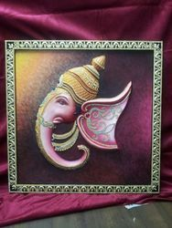 Ganesh Face Wall Hanging