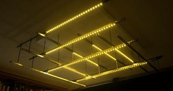 LED Strip Chandelier