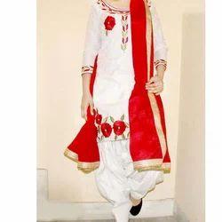 Cotton Patiala Suit