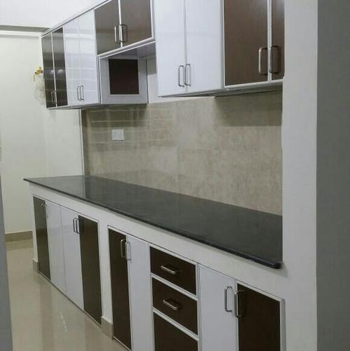 Aluminium Modular Kitchen At Rs 1100 Square Feet: Modern Colour Various Available Aluminum Kitchen Cabinet
