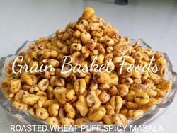 Roasted Wheat Puff Spicy Masala Namkeen, Packaging Type: Laminated hdpe Woven Sack, Packaging Size: 20 kg